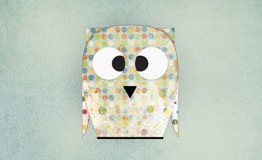 free design owl desktop wallpaper preview