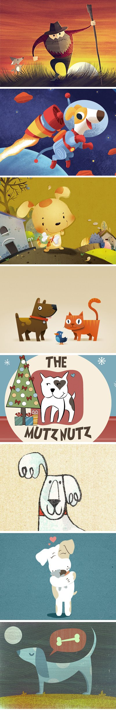 Dog Graphic Design Examples