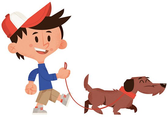 Pet design and pet illustration created for Walk The Dog board game