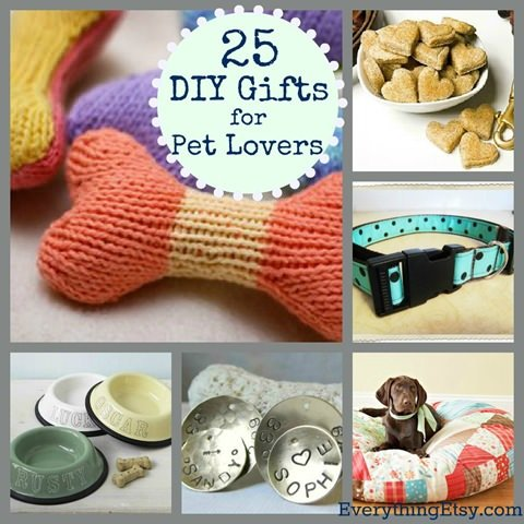 25 DIY Pet Gift Ideas
