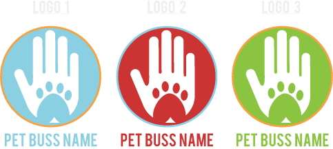 Free pet business mark logo download from Sniff Design Studio
