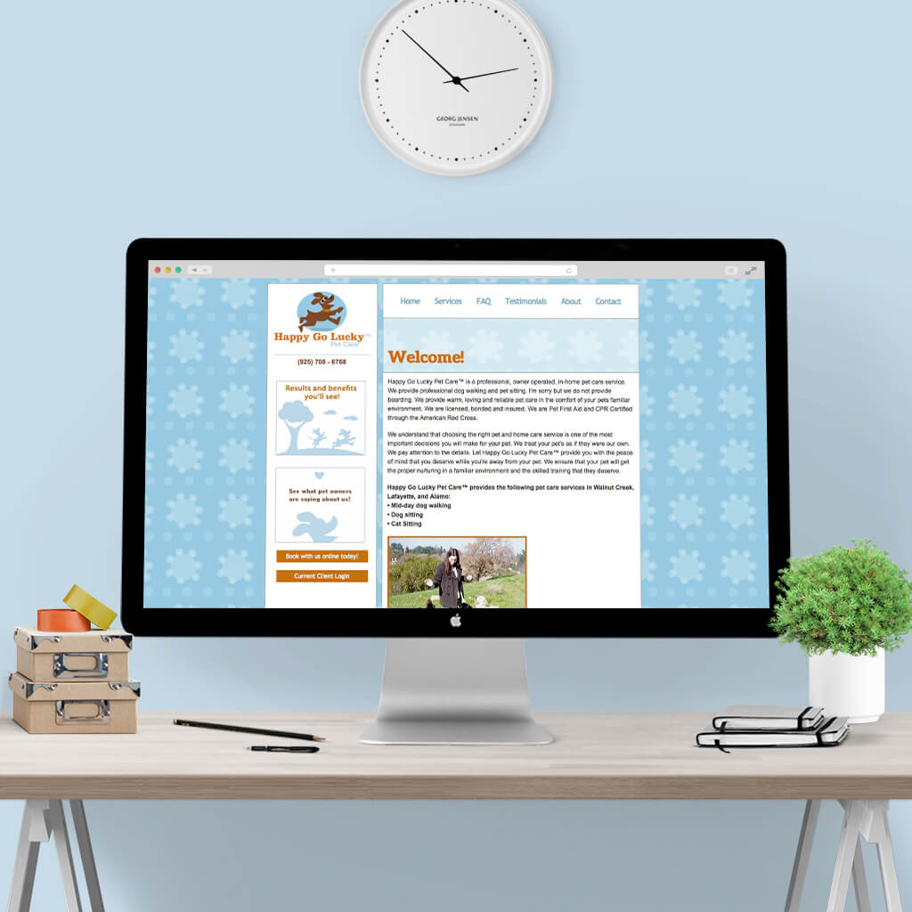 pet-web-design-for-Happy-Go-Lucky-Pet-Care