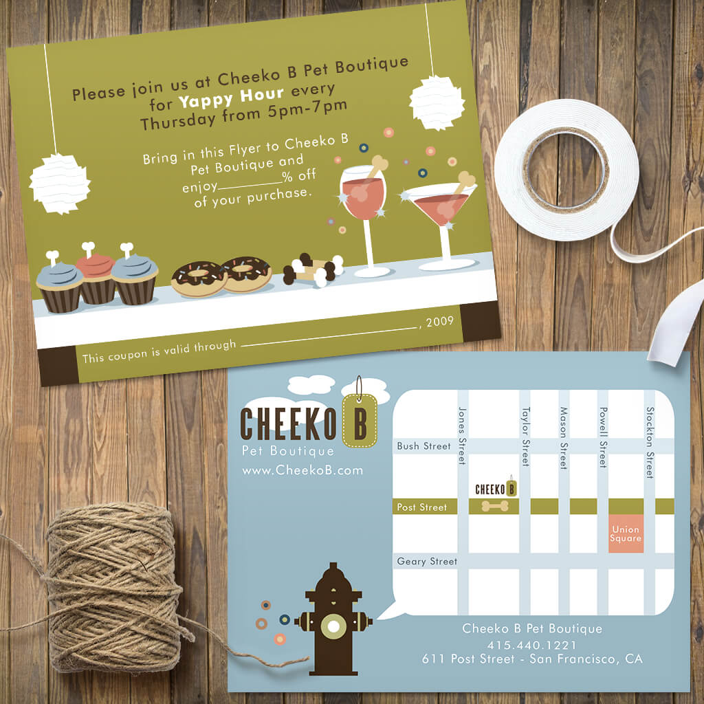 CheekoB-Yappy-Hour-Flyer-Pet-Design