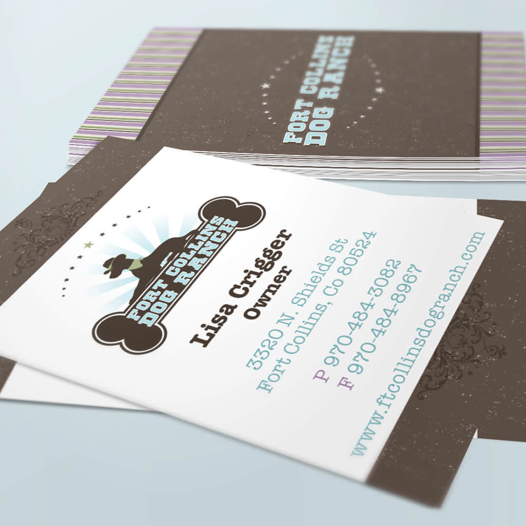Fort-Collins-Dog-Ranch-pet-business-card-design