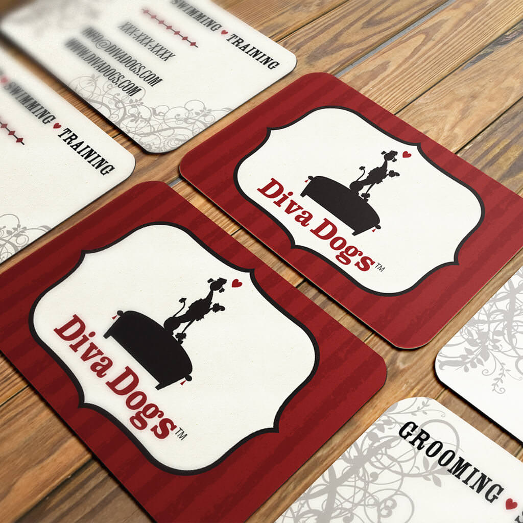 Diva-Dogs-Grooming-Pet-Business-Card-Design