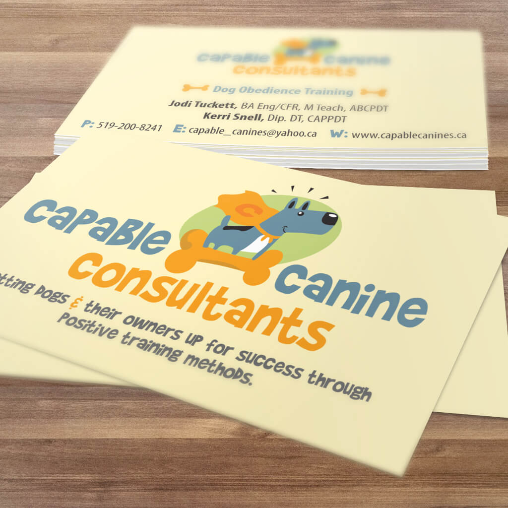 Capable-Canine-Consultants-Pet-Business-Card-Design