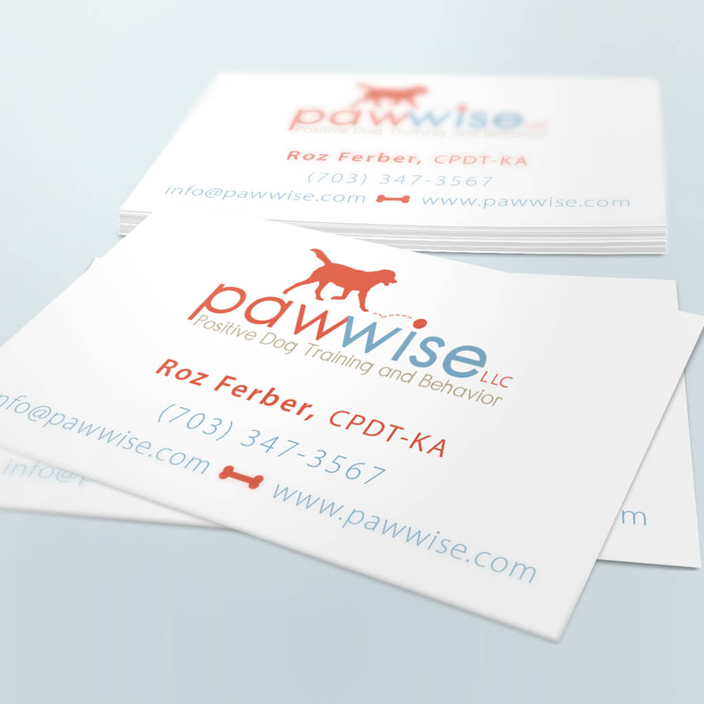Pawwise-Dog-Training-Pet-Business-Card-Design