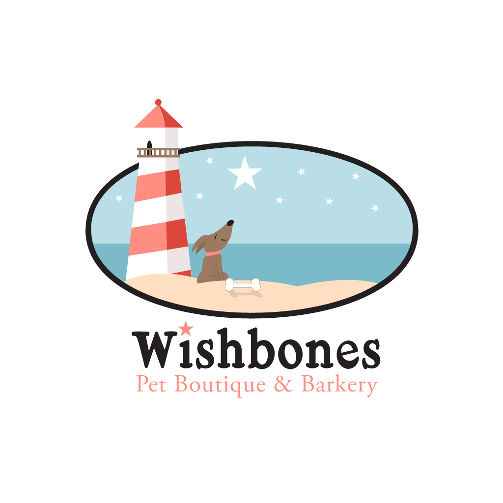 Wishbones Pet Boutique & Barkery Logo Design & Branding