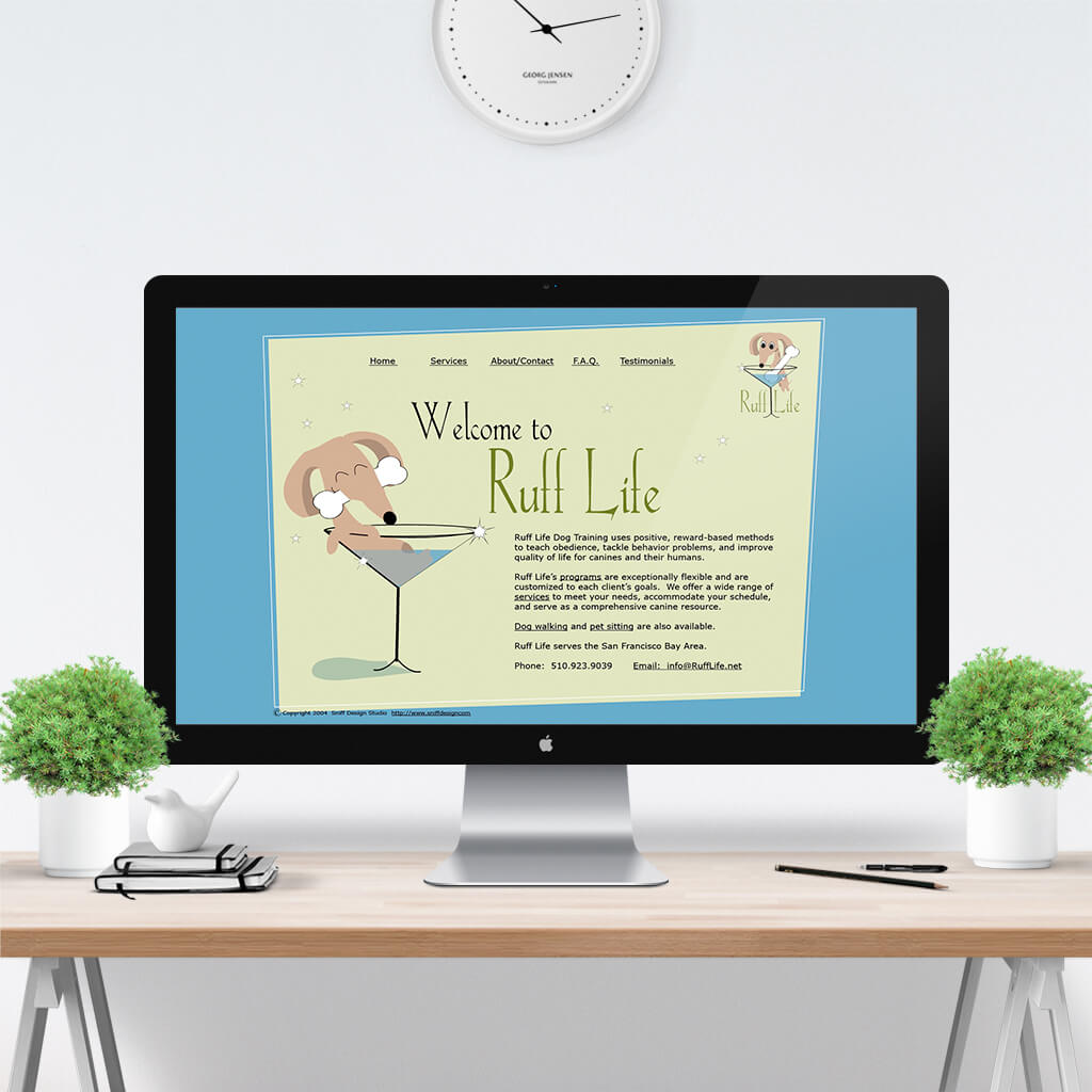 Ruff-Life-Dog-Training-Website