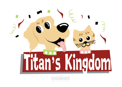Titan's Kingdom Pet Daycare Logo & Branding