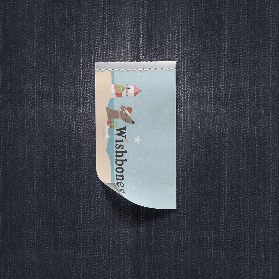 Wishbones Pet Boutique - Label Cloth Design - Image 2