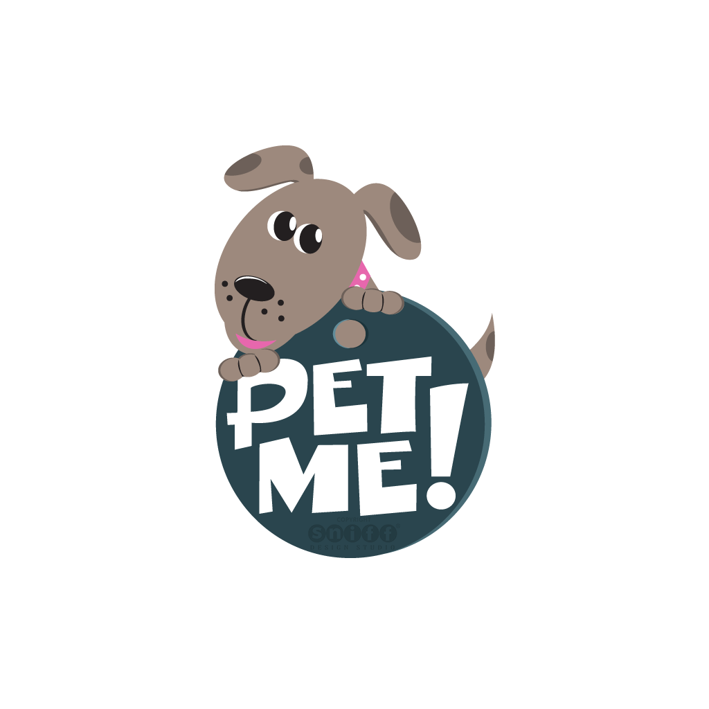 Pet Me Pet Care - Pet Sitting & Dog Walking Logo Design