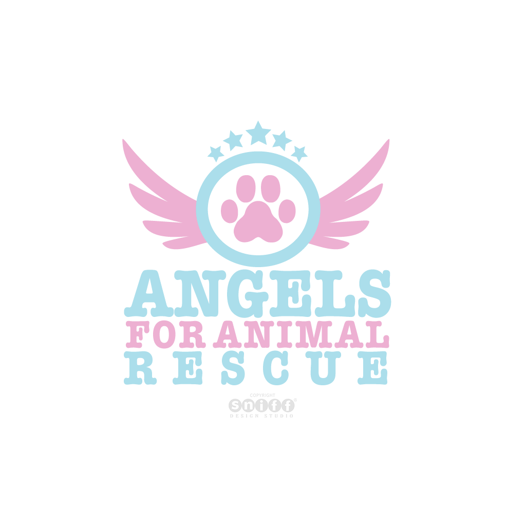 Angels For Animals - Pet Rescue Logo Design