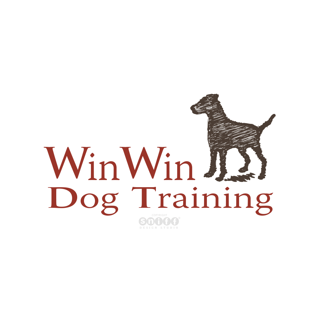 WinWin Dog Training - Pet Business Logo Design