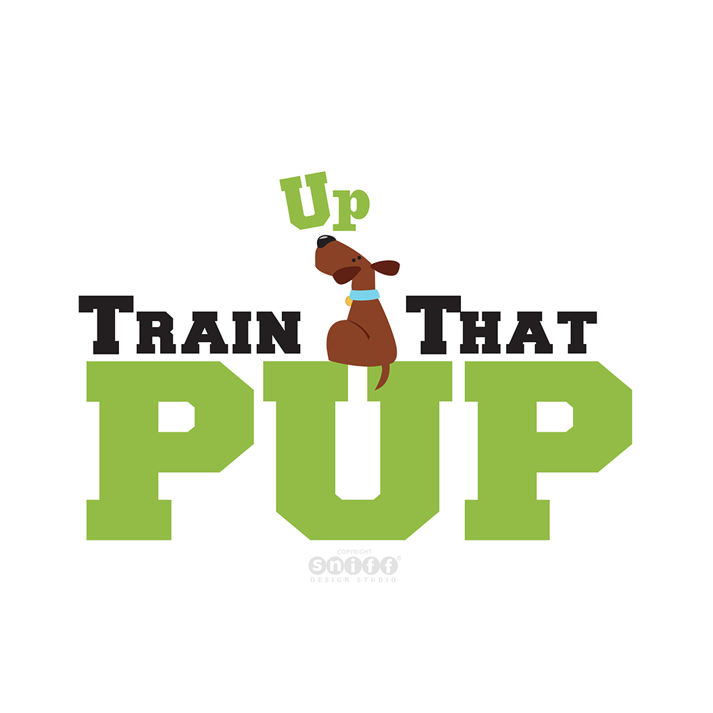 Train Up That Pup - Pet Business Logo Design
