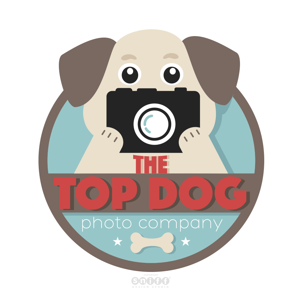 Top Dog Photo Company - Pet Photography Logo Design