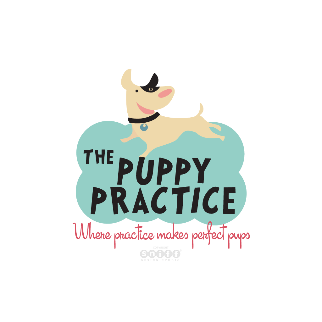 The Puppy Practice - Pet Business Logo Design by Sniff Design Studio