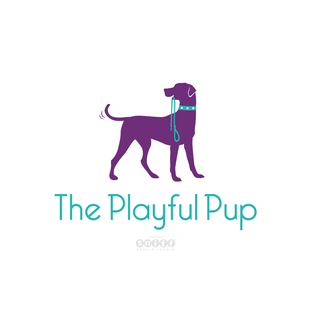 The Playful Pup - Pet Business Logo Design