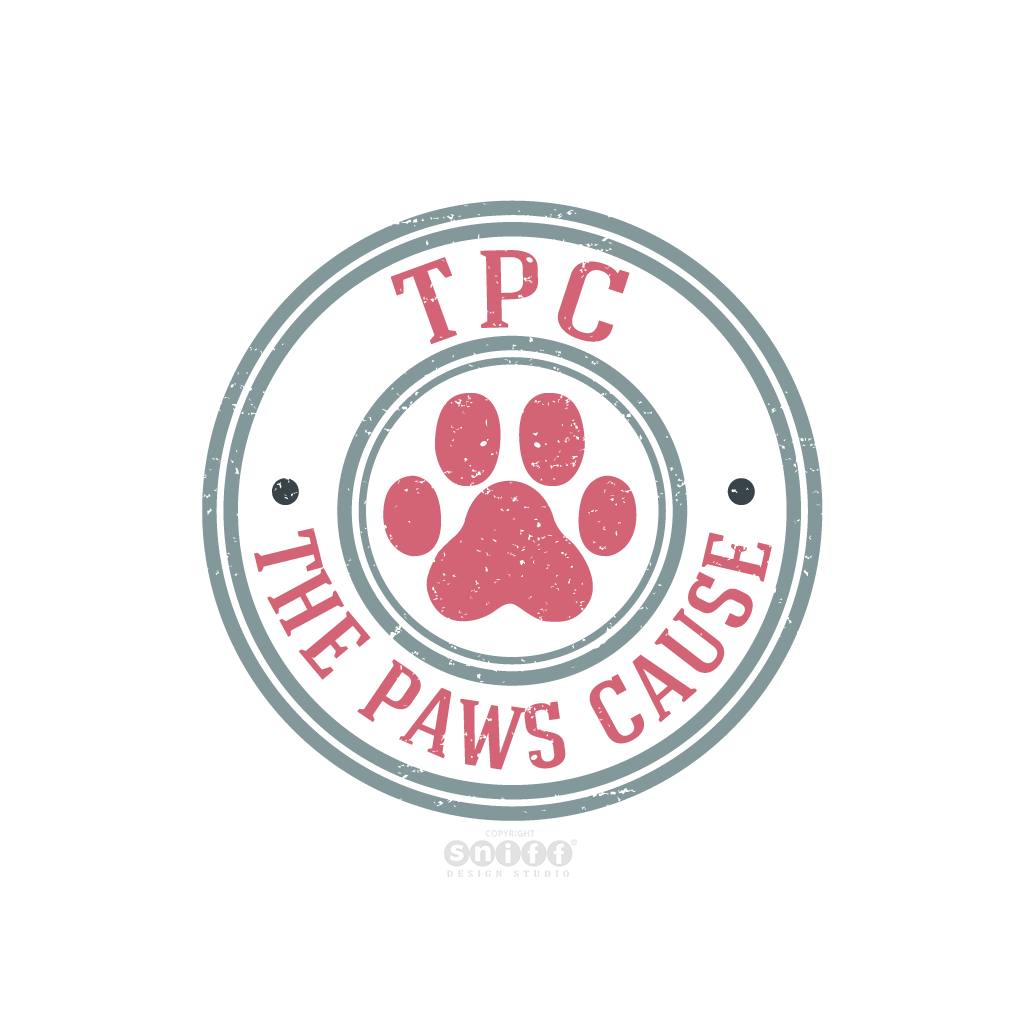 The Paws Cause - Pet Business Logo Design by Sniff Design Studio