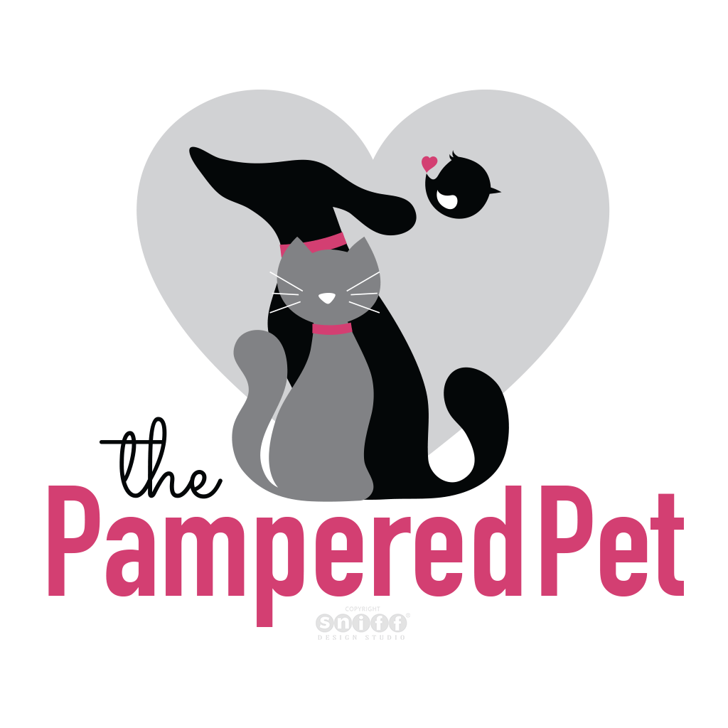 The Pampered Pet of Cape Cod Pet Sitting & Dog Walks - Pet Business Logo Design by Sniff Design Studio