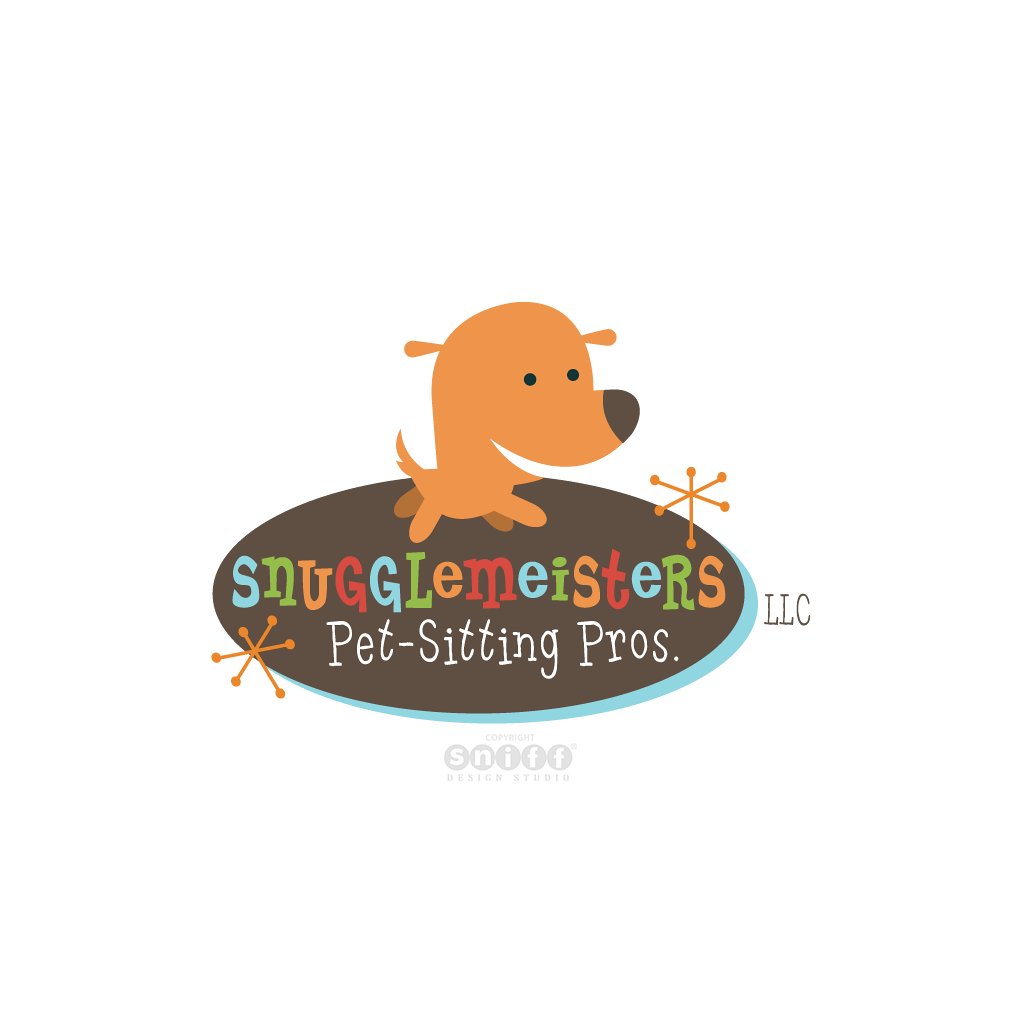 Snugglemeisters Pet Sitting Pros - Pet Business Logo Design