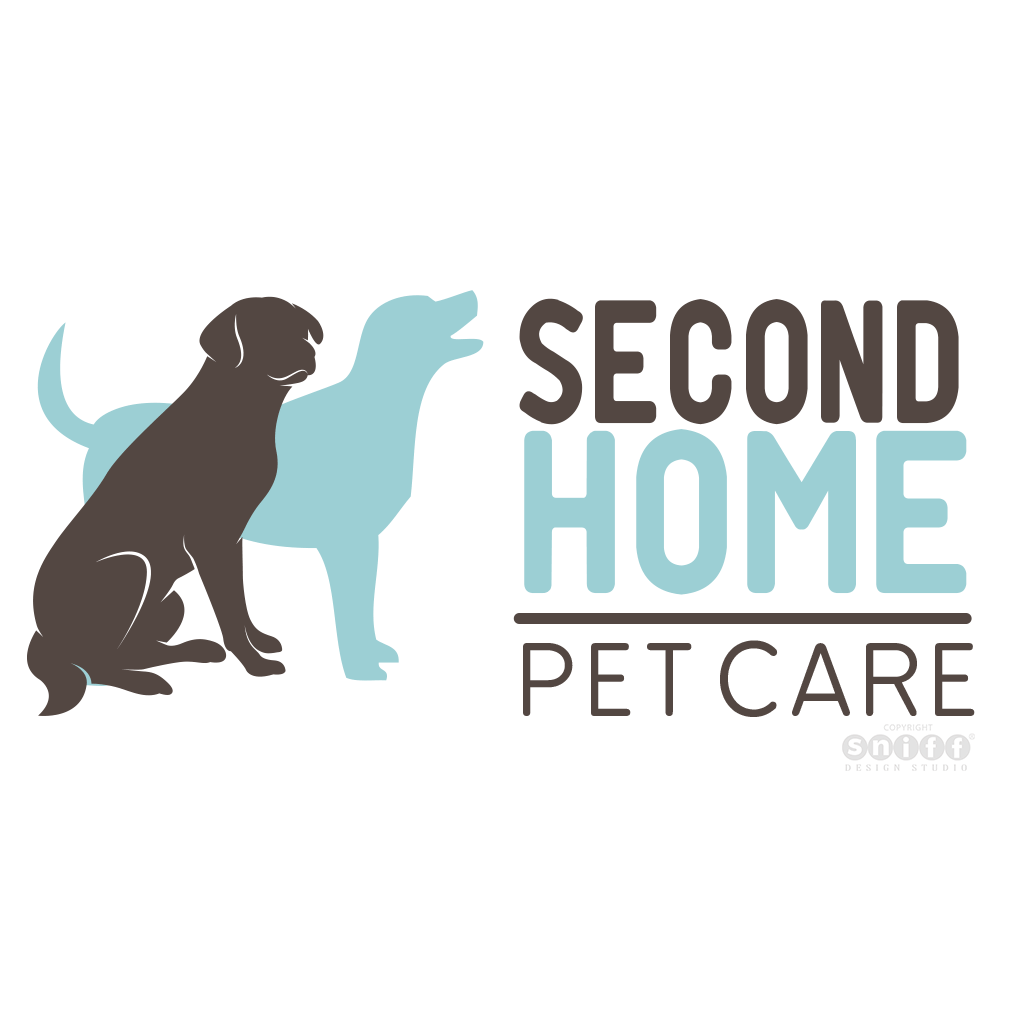 Second Home Pet Care - Pet Business Logo Design by Sniff Design Studio