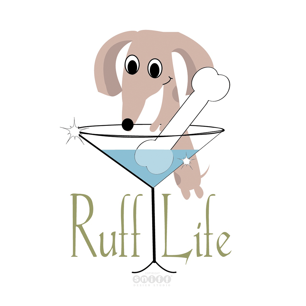 Ruff Life Dog Training - Pet Business Logo Design by Sniff Design Studio