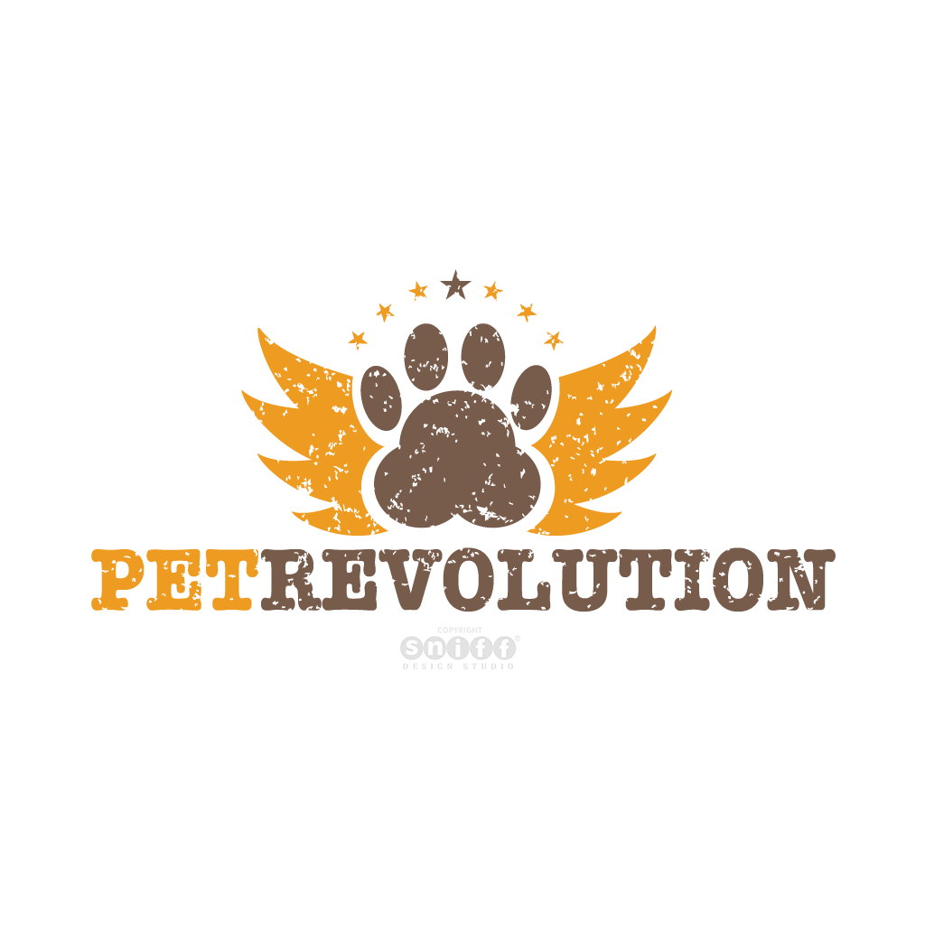 Pet Revolution, UK - Pet Business Logo Design by Sniff Design Studio.