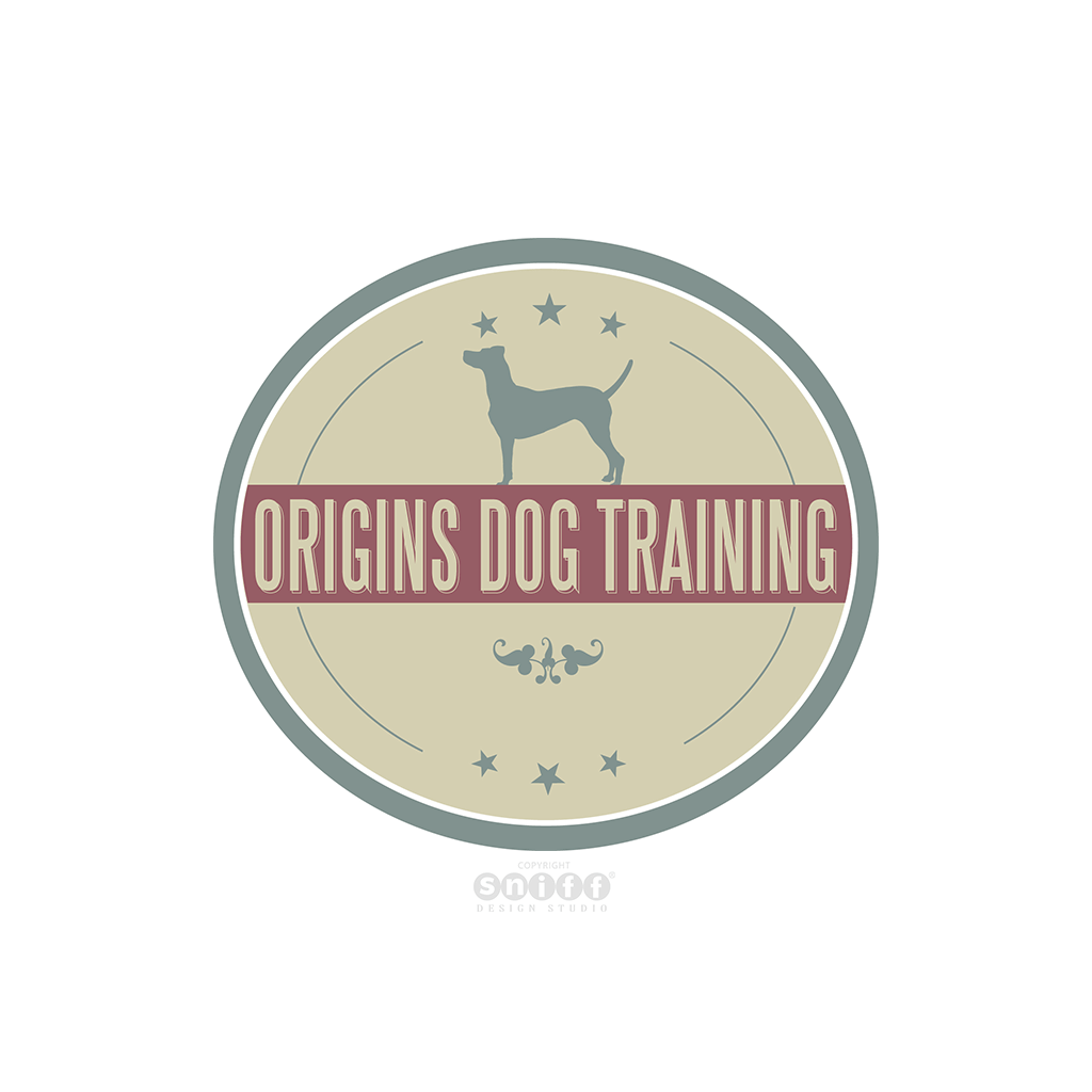 Origins Dog Training - Pet Business Logo Design