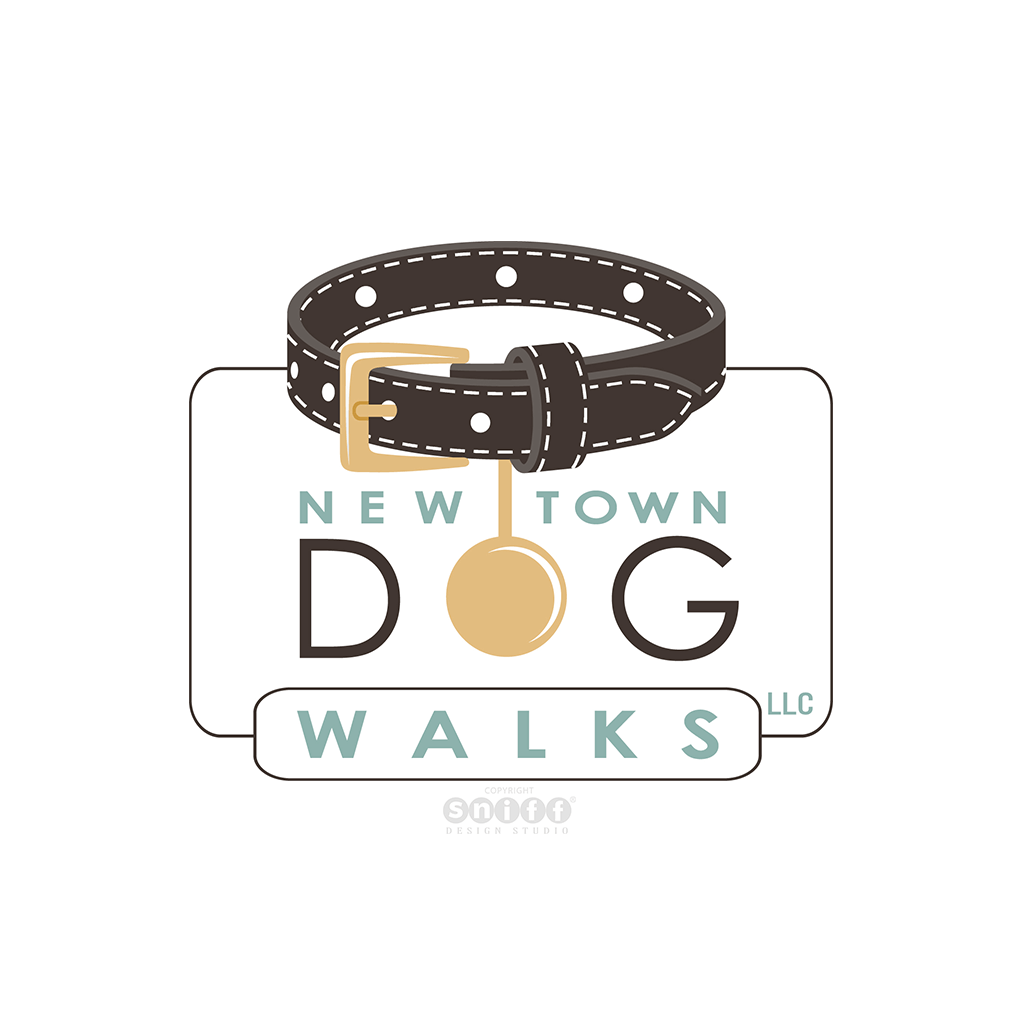 Newtown Dog Walks - Pet Business Logo Design
