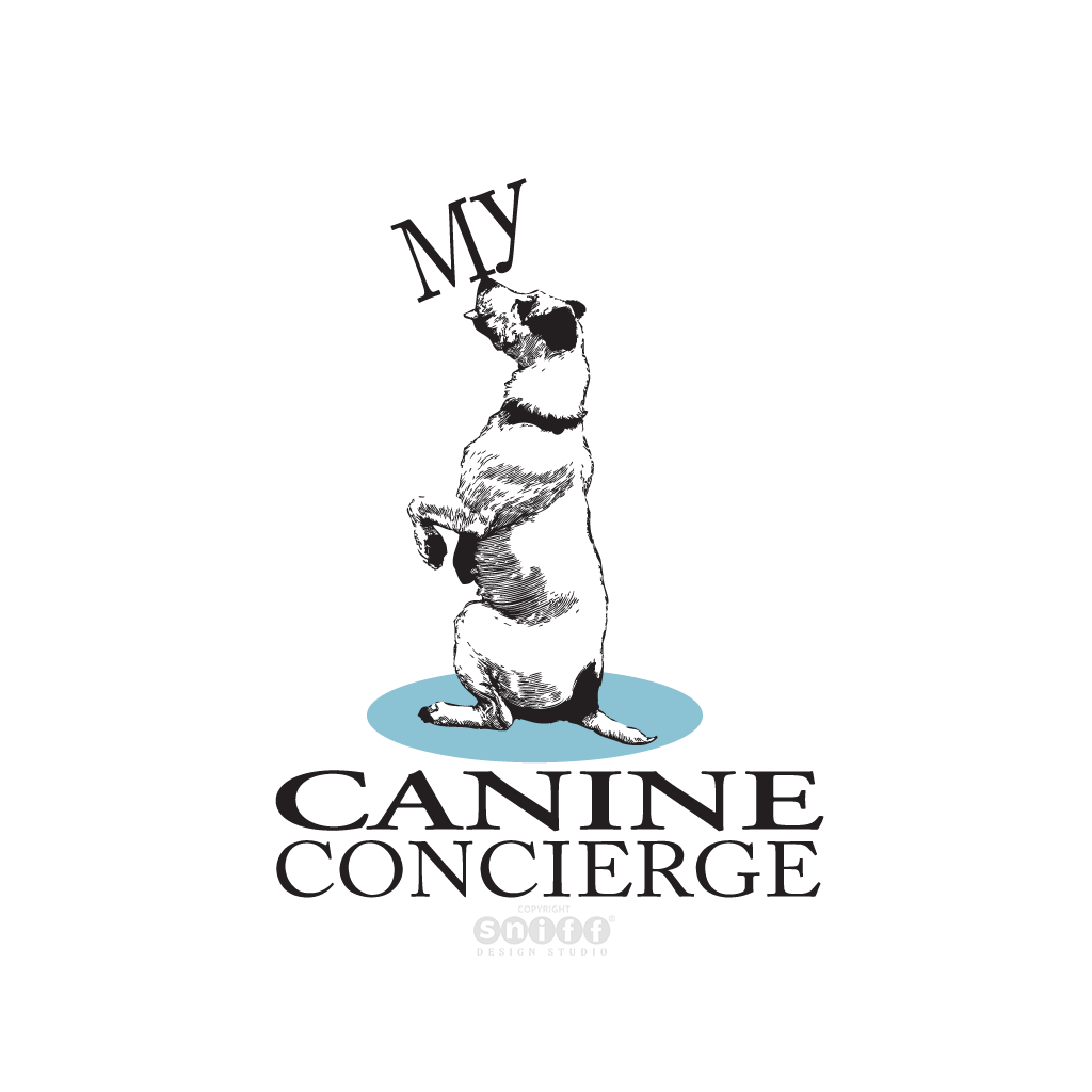 My Canine Concierge - Pet Business Logo Design