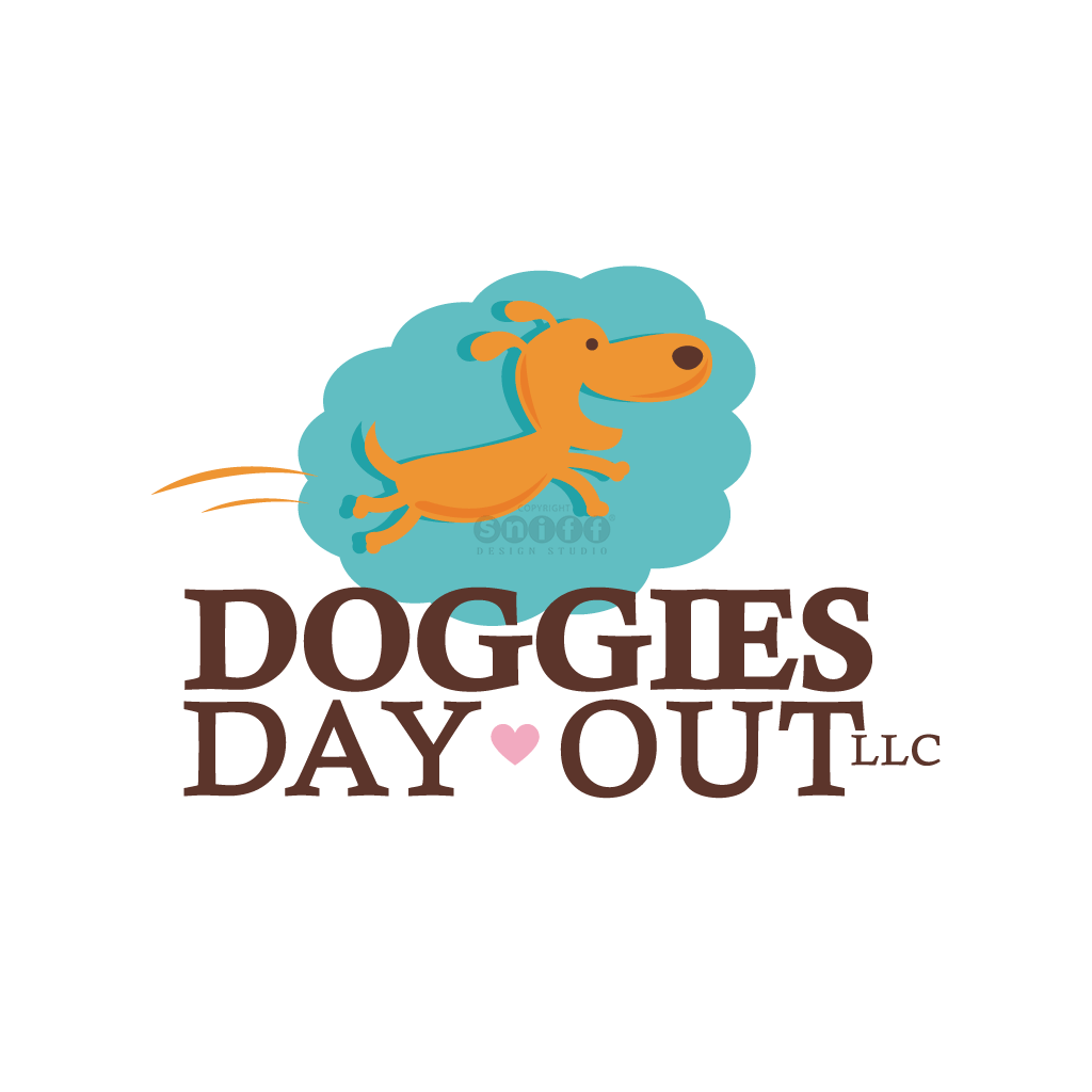 Doggies Day Out Pet Care - Pet Business Logo Design