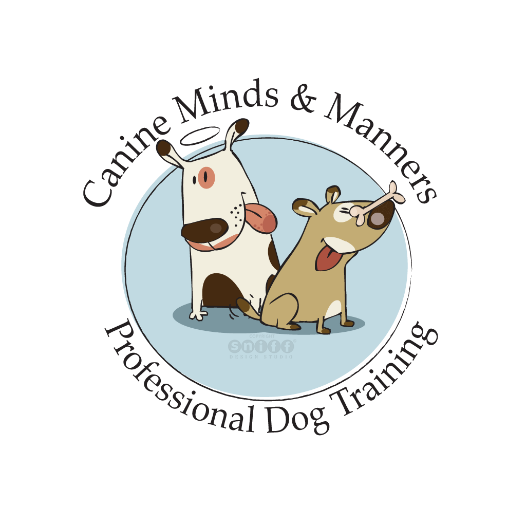 Canine Minds & Manners Dog Training - Pet Business Logo Design by Sniff Design Studio.