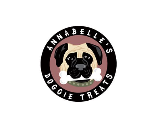 Annabelle's Doggie Treats Pet Bakery Logo & Branding