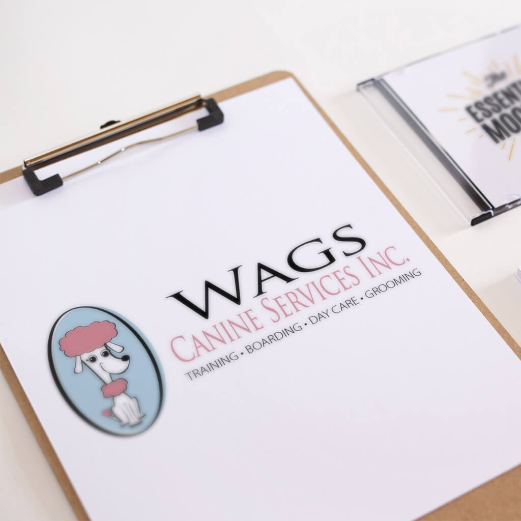 Wags-Canine-Services-Inc-pet business logo design by Sniff Design Studio