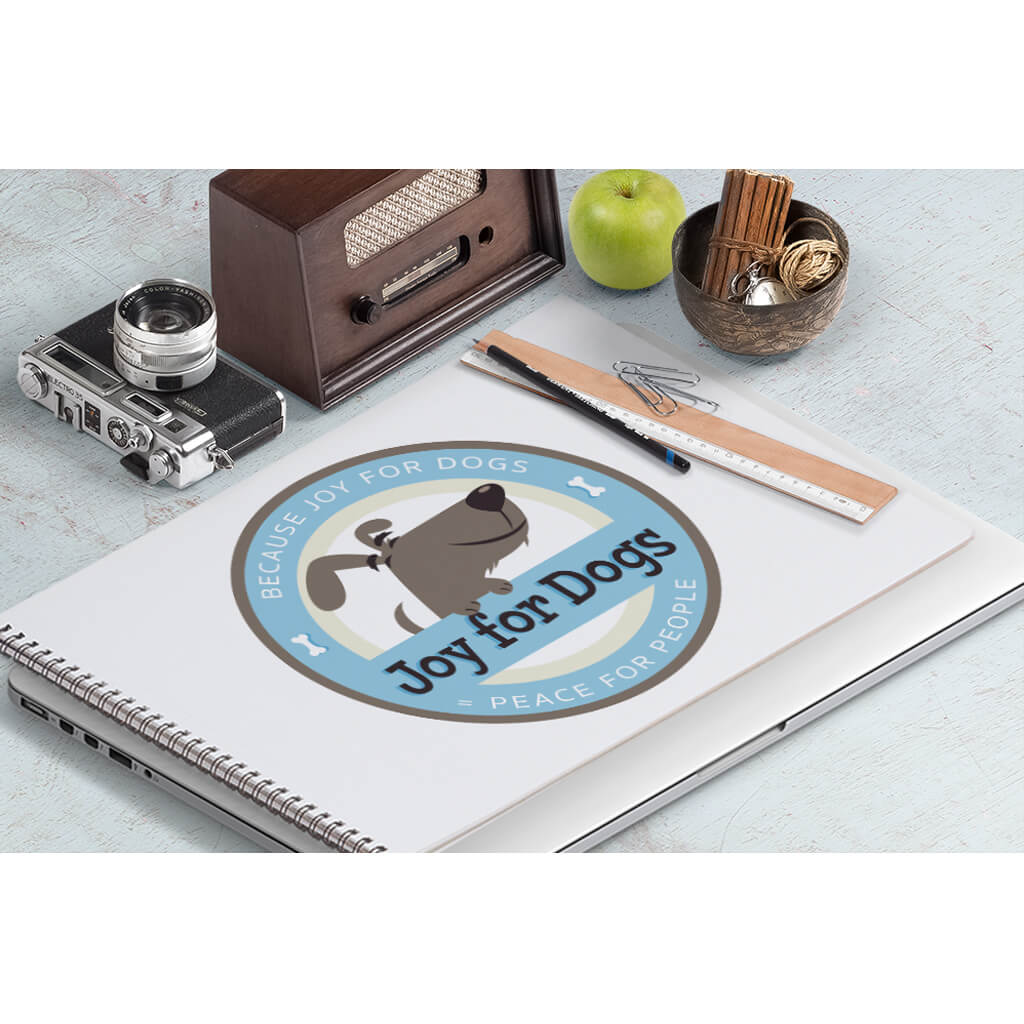 joy-for-dogs-pet-training-logo design by Sniff Design Studio