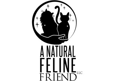 A Natural Feline Friend Logo Design