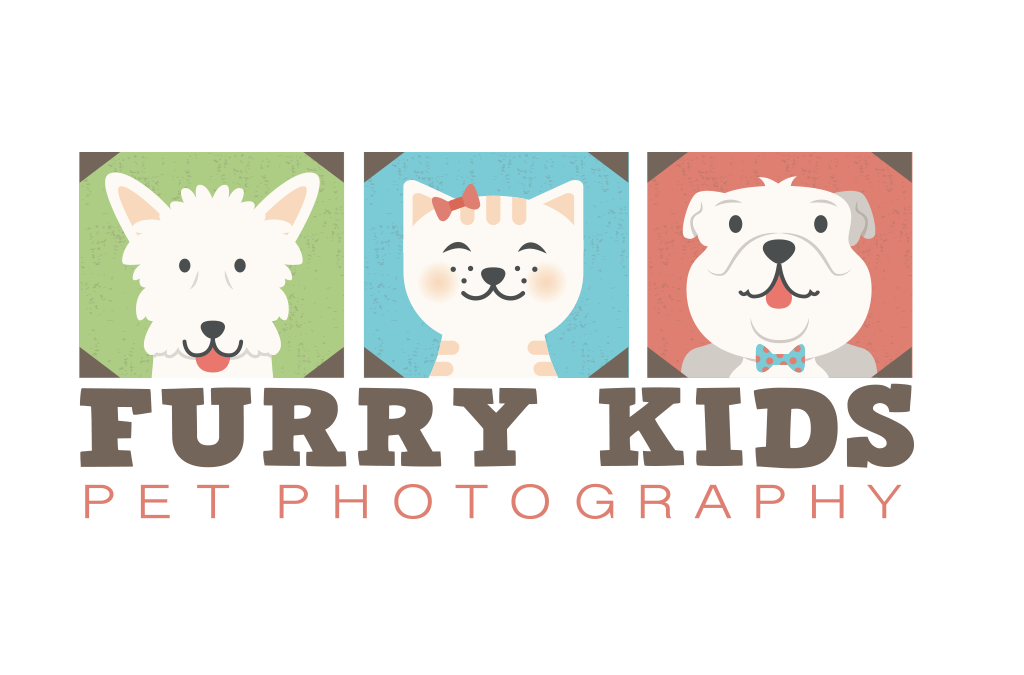 Furry Kids Pet Photography Logo