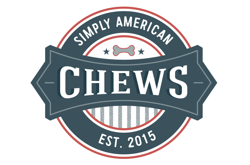 Simply American Chews Pet Treat Logo Design & Branding