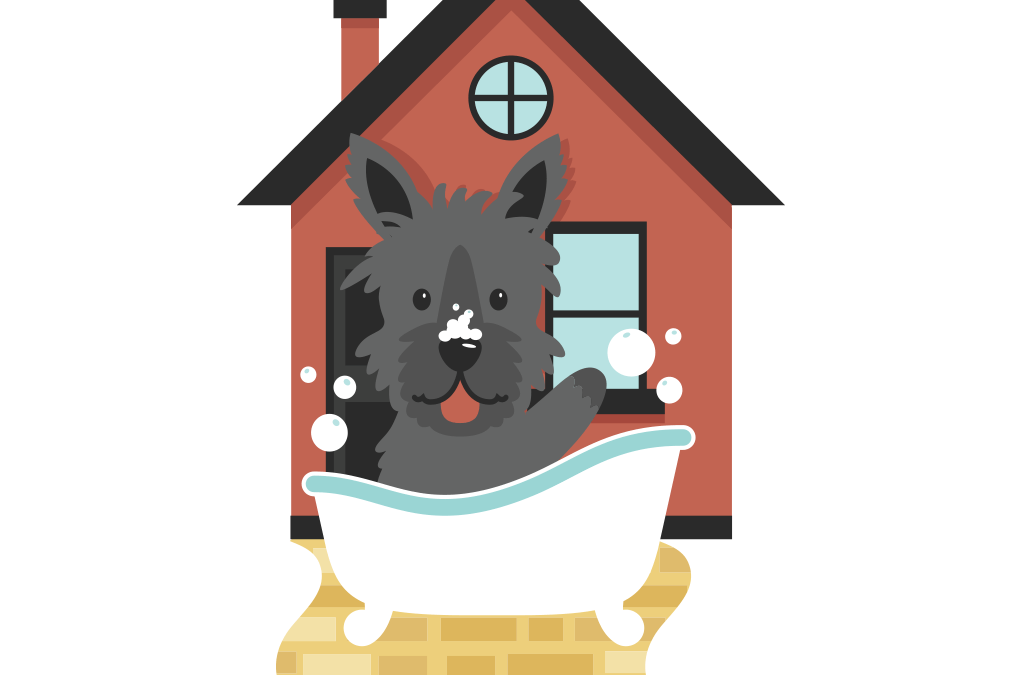Toto's Mobile Pet Grooming Logo Design