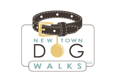 Newtown Dog Walks Logo Design