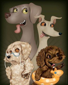 Canine Gang by Chris Beetow
