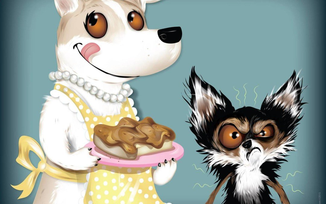 Whimsical Pet Illustrations by Chris Beetow!