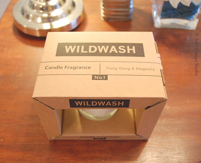 WildWash Candle Gift to Sniff Design Studio