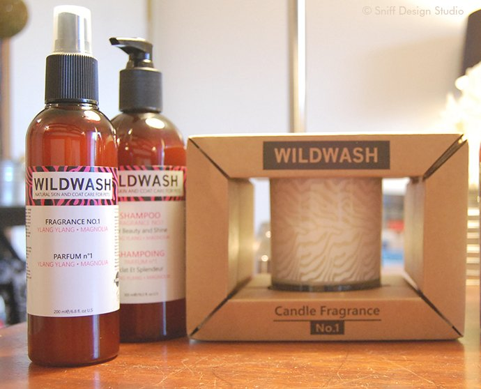 WildWash Pet Shamppo Gift to Sniff Design Studio