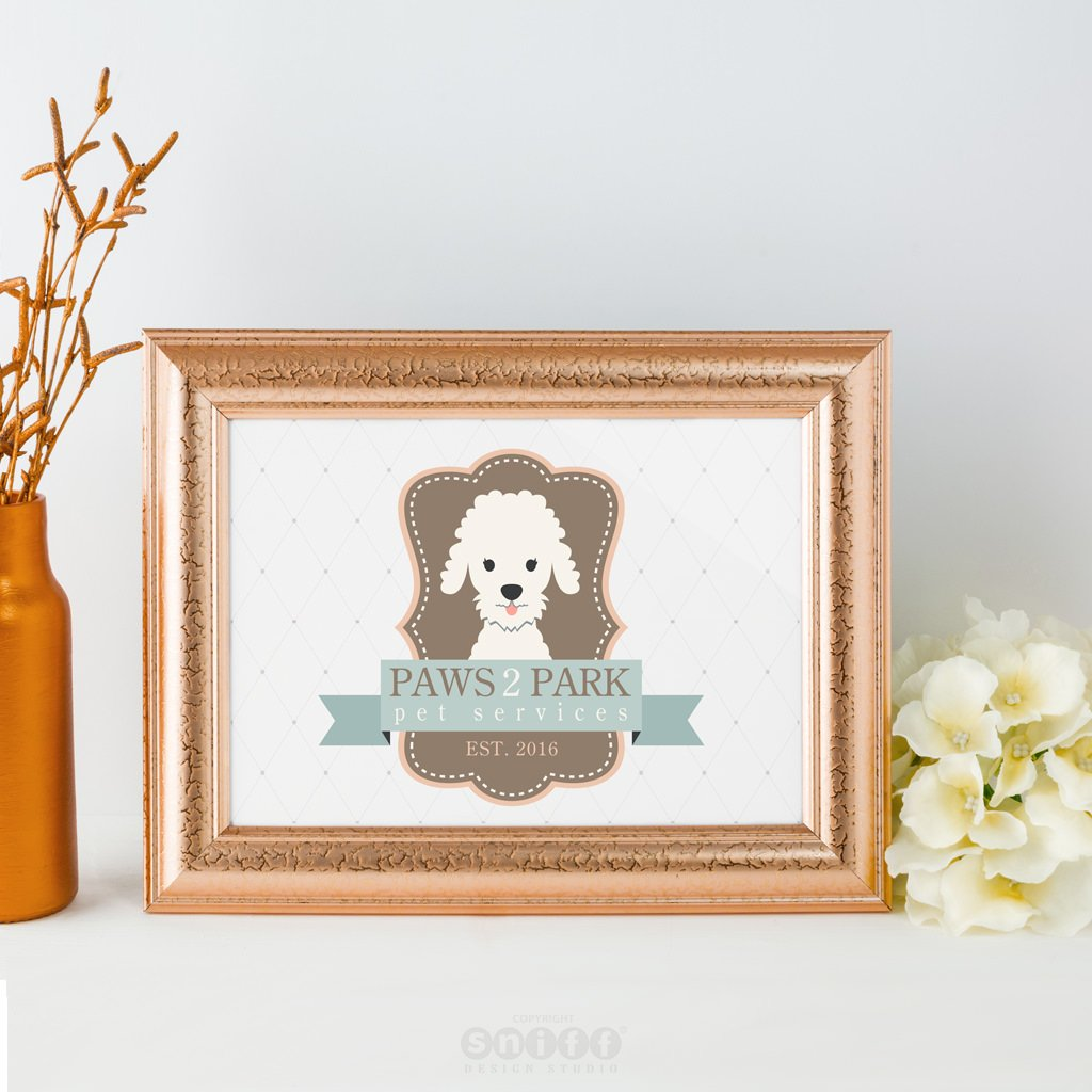 Paws 2 Park Pet Services - Pet Business Logo Design Showcase by Sniff Design Studio