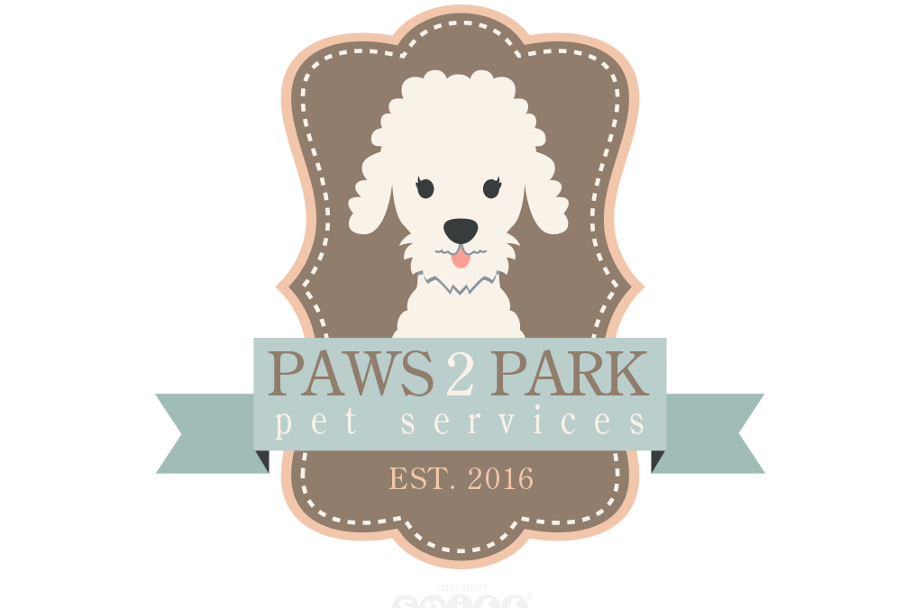 Paws 2 Park Pet Services Logo Design