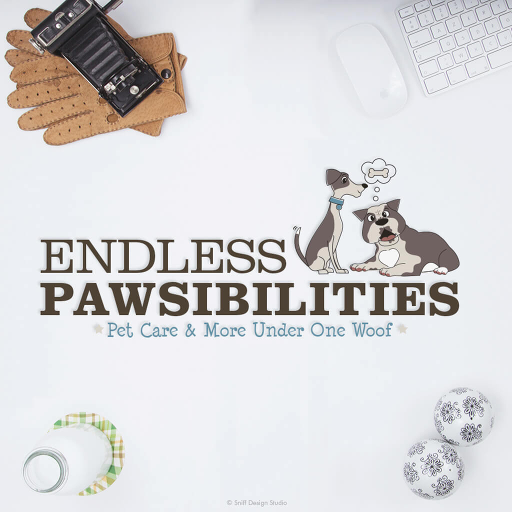 Endless Pawsibilities Pet Care Secondary Logo Design