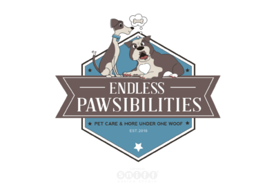 Endless Pawsibilities Dog Training Logo & Website Design