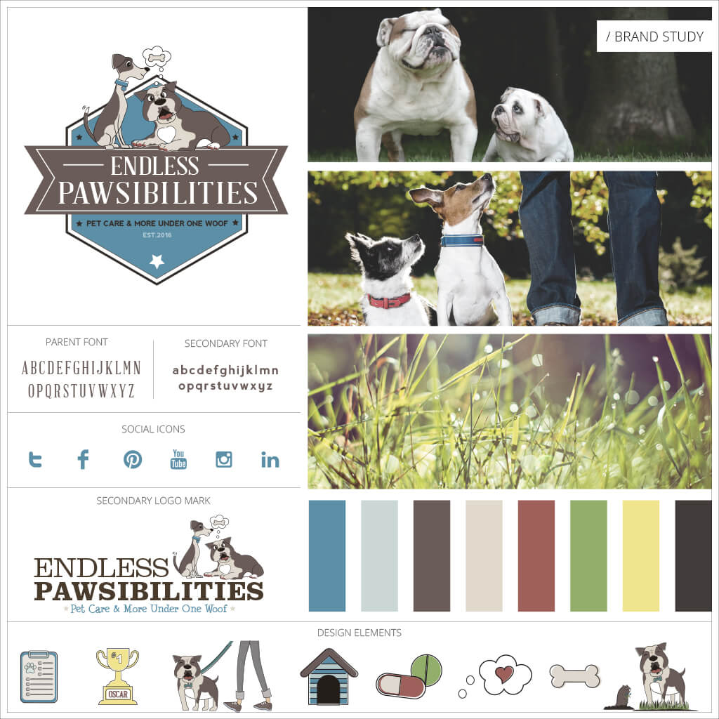 Endless Pawsibilities Dog Training Brand Study Showcase